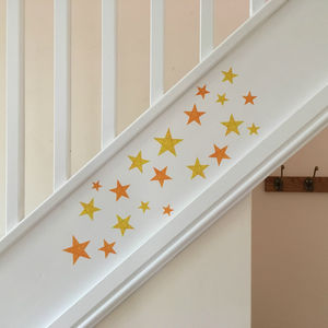 Stars Wall Sticker Set - decorative accessories