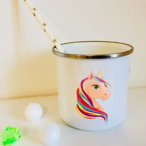 Personalised Unicorn Children's Cup