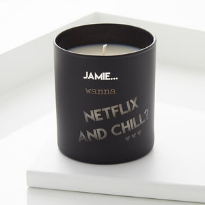 Personalised Cheeky Message Candle