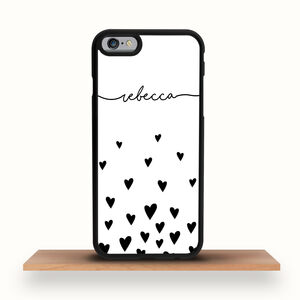 Personalised Heart iPhone Case