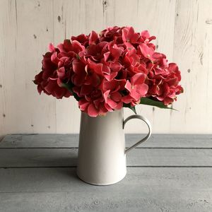 Hydrangea Faux Flower Single Stem