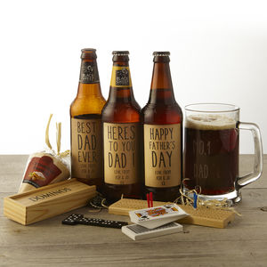 Personalised Ale And Pub Games Gift Box