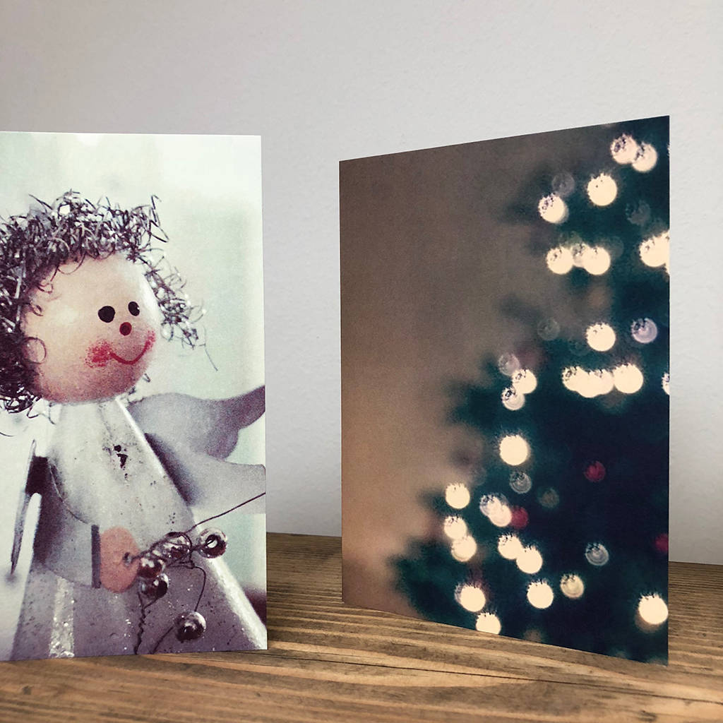 vintage style christmas card pack by please kern left ...