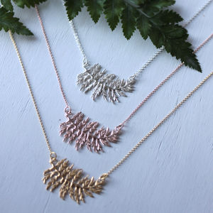 Delicate Fern Necklace