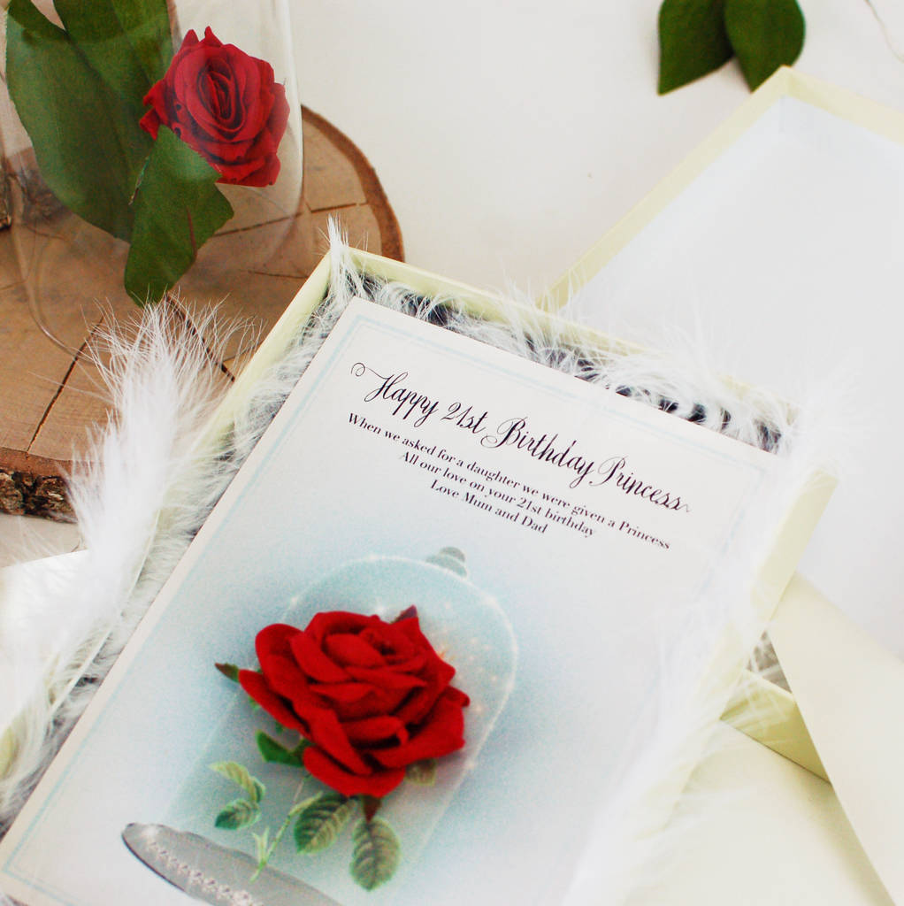 fairytale personalised ladies girls birthday card by made with – Ladies Birthday Cards