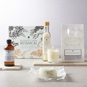 Personalised Botanicals Pamper Gift Box - bathroom