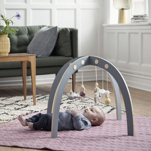 Luxury Wooden Baby Gym - christening gifts