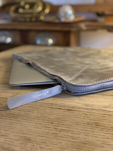 Mac Book 12 Inch Leather Cover