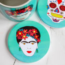 Frida Kahlo Ceramic Coaster