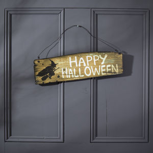 Halloween Sign - signs