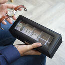 Men's Personalised Stag Watch Box