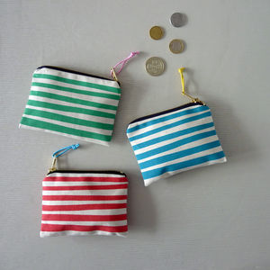 Stripe Small Purse
