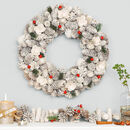 Extra Large Frosted Forest Luxury Christmas Wreath