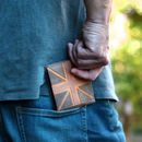 Union Jack Leather Wallet