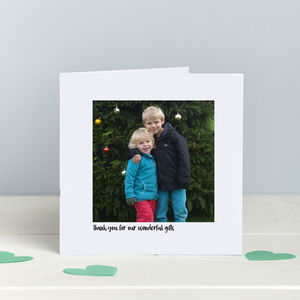 Photographic Thank You Card Any Occasion