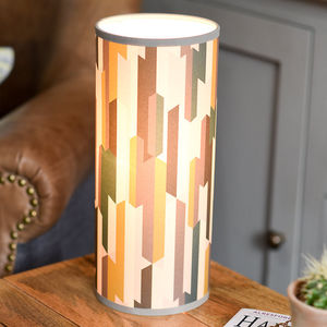 Scandinavian Rand Tube Light - lamp bases & shades