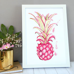 Pineapple Print - posters & prints