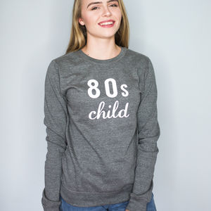 Personalised Birthday Decade Sweatshirt - women's fashion