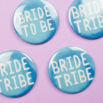 Hen Party Badges Bride Tribe