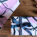 Inky Wrapping Paper By Anna Wright
