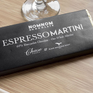 Espresso Martini Chocolate Bar