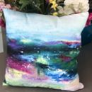 Abstract Highland Cushion