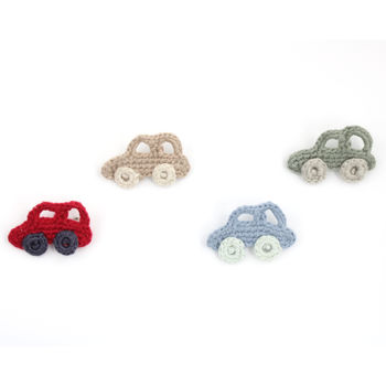 Handmade Organic Or Bamboo Car Brooch
