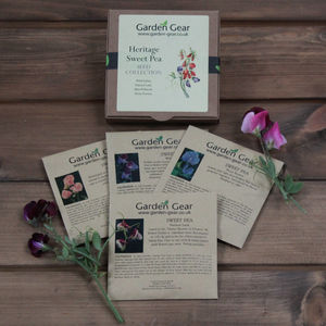 Heritage Sweet Pea Seed Collection - gardening
