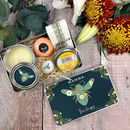 Personalised 'Bee Happy' Kindness And Relaxation Kit