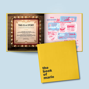 The Book Of Everyone A Personalised Birthday Book - gifts for teenage boys