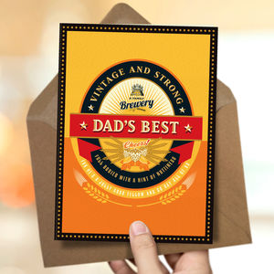 Dad 'Dad's Best' Card