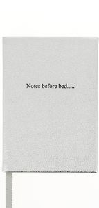 Notes Before Bed Notebook In Leather