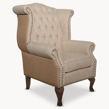 St James English Wing Chair
