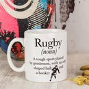Definition Of Rugby Mug