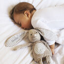 Personalised Soft And Cuddly Bunny Rabbit