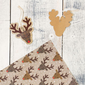 Rudi Reindeer Festive Gift Wrap Range - shop by category