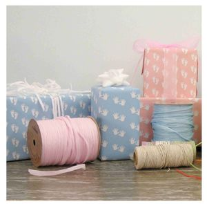 Christening Gifts Girls Boys Wrapping Paper - ribbon & wrap