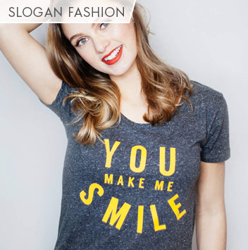 slogan fashion