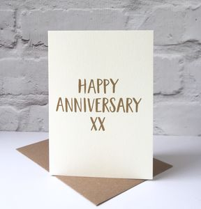 Happy Anniversary Card - what's new