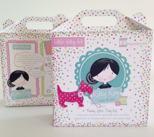 Activity Sewing Craft Kit Mini Spotty Dog