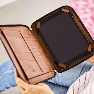 Leather Organiser For iPad - men's travel gifts