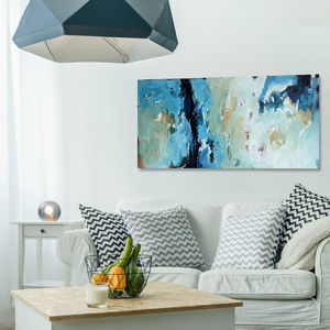 'Delirious ' Original Bright Abstract Canvas Painting