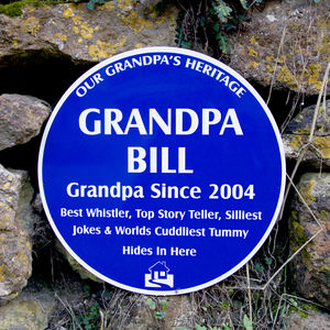 Personalised Heritage Sign - signs