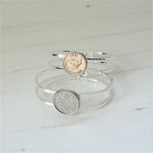 Birthday Coin Bangle - view all new