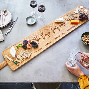 Large Oak Sharing Platter Board 4ft