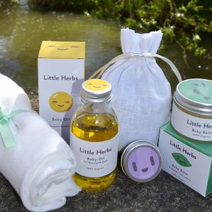Baby Blessings Skincare For Babies By Little Herbs - mum & baby gifts