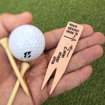 Personalised Copper Golfer's Tool