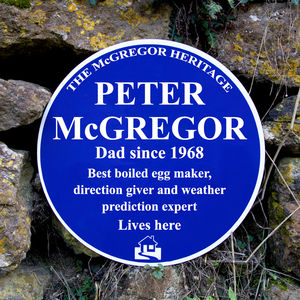 Personalised Heritage Sign