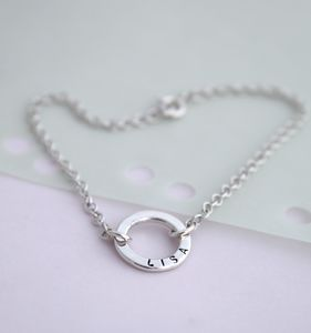 Personalised Mini Message Bracelet