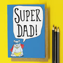 Super Dad Birthday Card